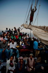 """Boat people"" haitiens"